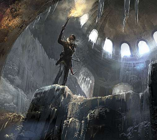 Rise of the Tomb Raider Mobile Horizontal wallpaper or background