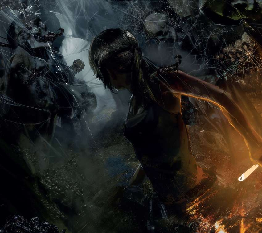 Tomb Raider Hd Wallpapers 1080p: Rise Of The Tomb Raider Mobile Horizontal Wallpaper Or
