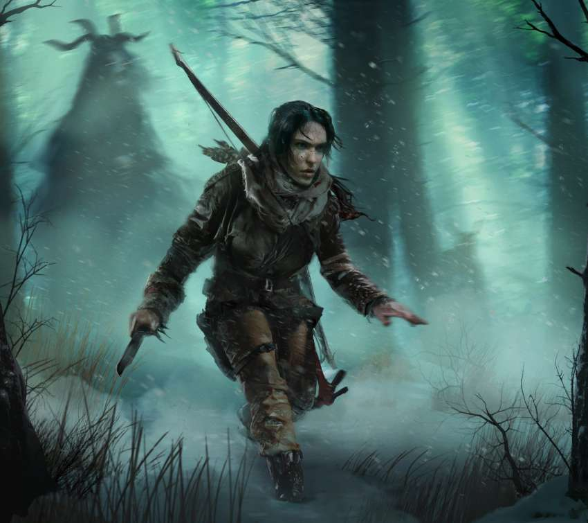 Rise of the Tomb Raider: Baba Yaga - The Temple of the Witch Mobile Horizontal wallpaper or background