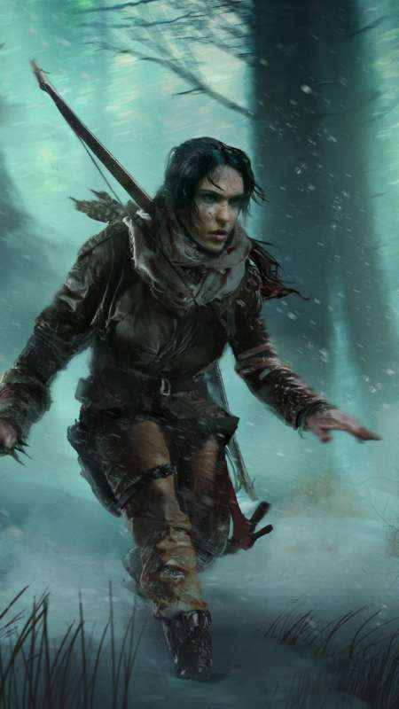 Rise of the Tomb Raider: Baba Yaga - The Temple of the Witch Mobile Vertical wallpaper or background