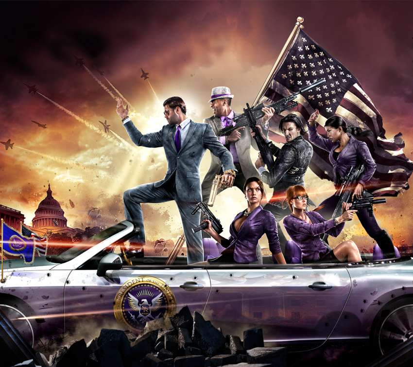 Saints Row 4 Mobile Horizontal wallpaper or background