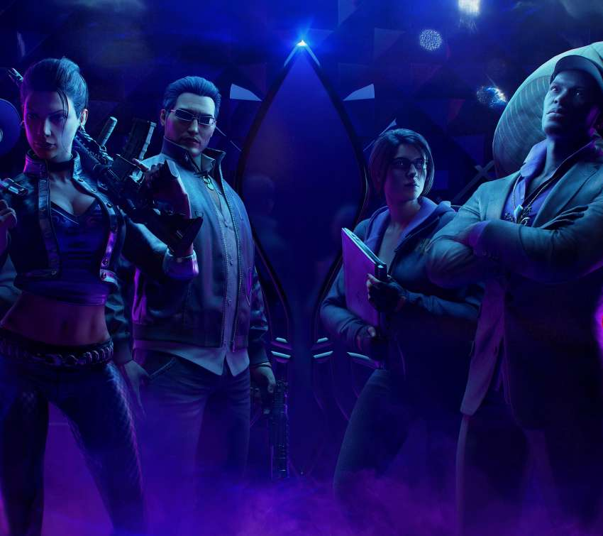 Saints Row: The Third Remastered Mobile Horizontal wallpaper or background