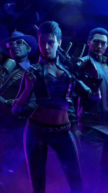 Saints Row: The Third Remastered Mobile Vertical wallpaper or background