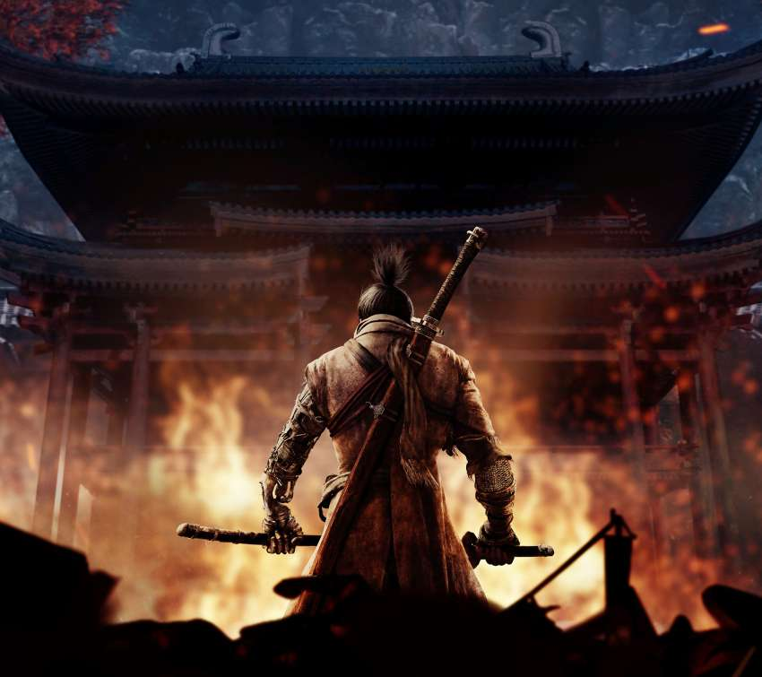 Sekiro: Shadows Die Twice Mobile Horizontal wallpaper or background