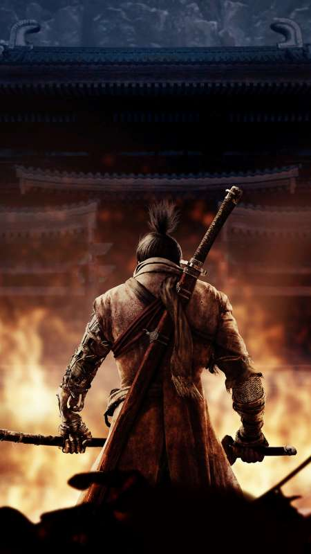Sekiro: Shadows Die Twice Mobile Vertical wallpaper or background