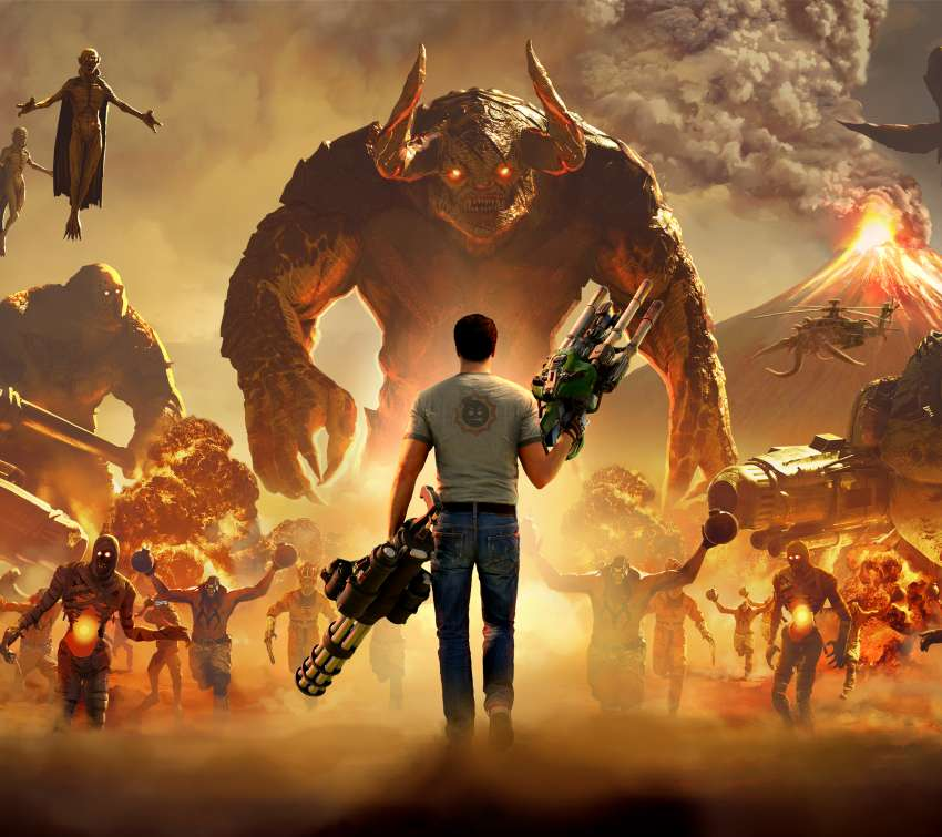 Serious Sam 4 Mobile Horizontal wallpaper or background