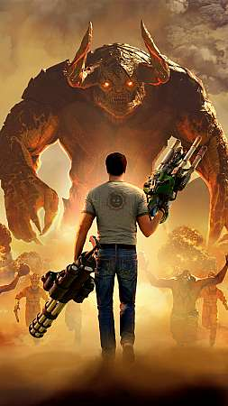 Serious Sam 4 Mobile Vertical wallpaper or background