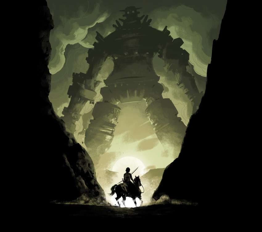 Shadow of the Colossus Mobile Horizontal wallpaper or background