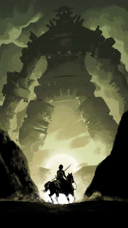 Shadow of the Colossus Mobile Vertical wallpaper or background