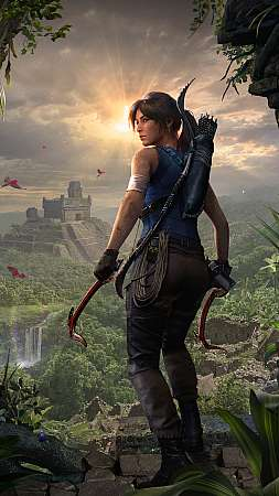 Shadow of the Tomb Raider Mobile Vertical wallpaper or background