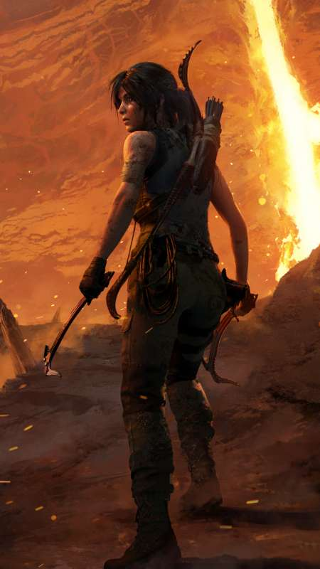 Shadow of the Tomb Raider: The Forge Mobile Vertical wallpaper or background