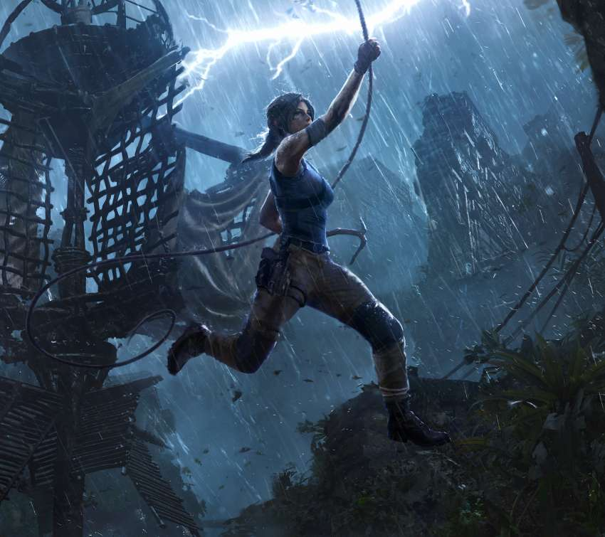 Shadow of the Tomb Raider: The Pillar Mobile Horizontal wallpaper or background