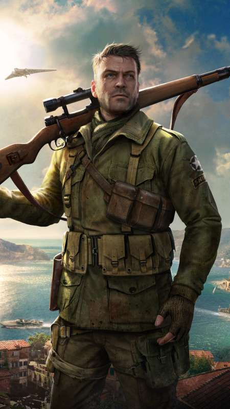 Sniper Elite 4 Mobile Vertical wallpaper or background