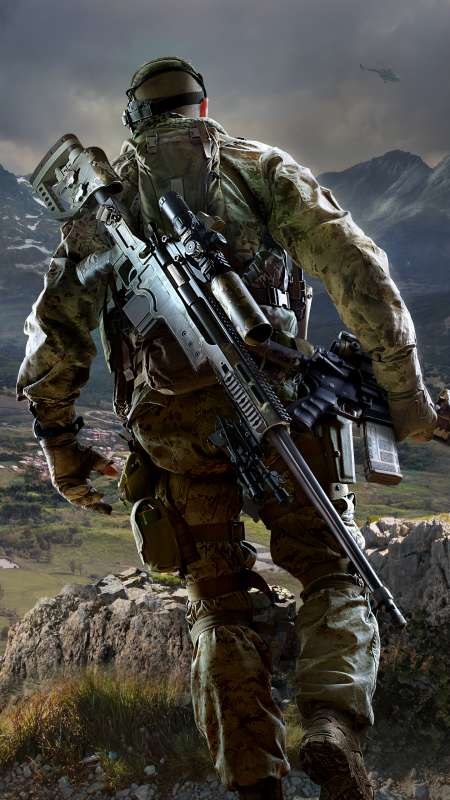 Sniper: Ghost Warrior 3 Mobile Vertical wallpaper or background