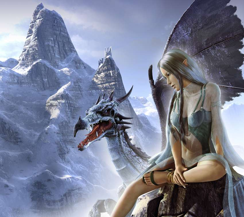 SpellForce: Breath of Winter wallpaper or background