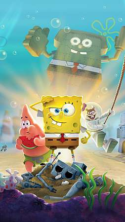 SpongeBob SquarePants: Battle for Bikini Bottom - Rehydrated Mobile Vertical wallpaper or background