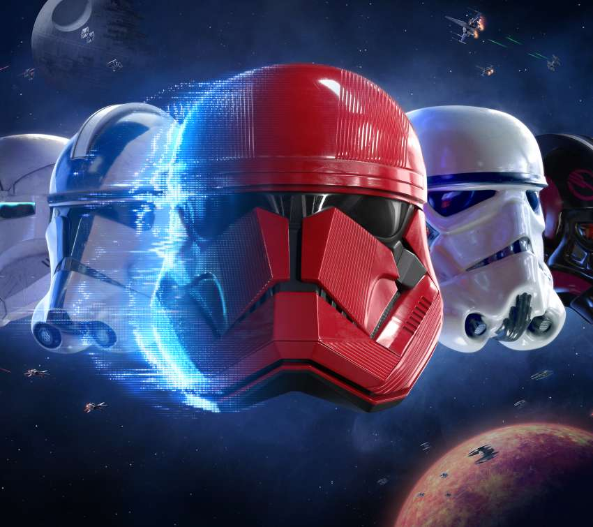Star Wars - Battlefront 2 Mobile Horizontal wallpaper or background