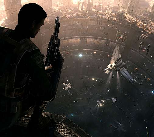 Star Wars 1313 Mobile Horizontal wallpaper or background