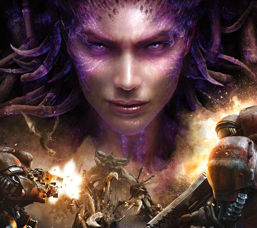StarCraft 2: Heart of the Swarm wallpaper or background