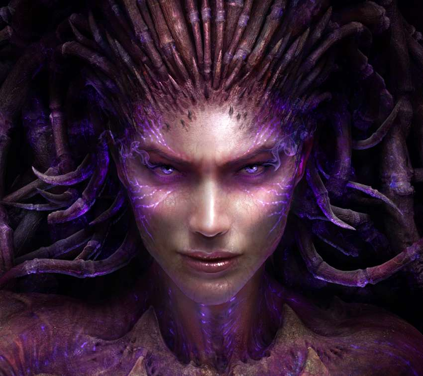 StarCraft 2: Heart of the Swarm Mobile Horizontal wallpaper or background