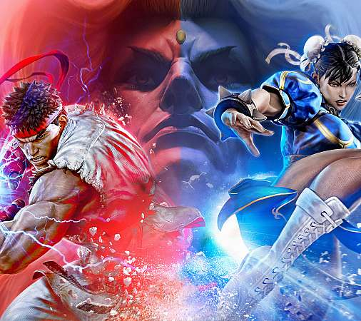 Street Fighter 5 Mobile Horizontal wallpaper or background