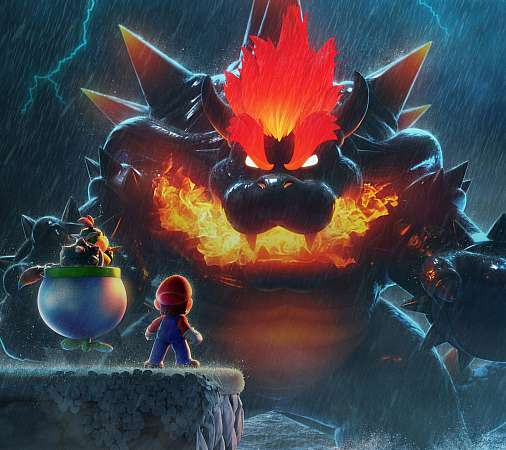 Super Mario 3D World: Bowser's Fury Mobile Horizontal wallpaper or background
