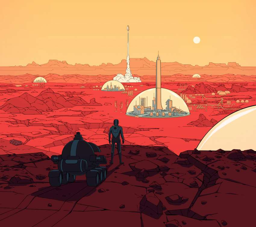 Surviving Mars wallpaper or background