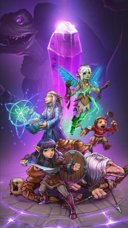 The Dark Crystal: Age of Resistance Tactics Mobile Vertical wallpaper or background
