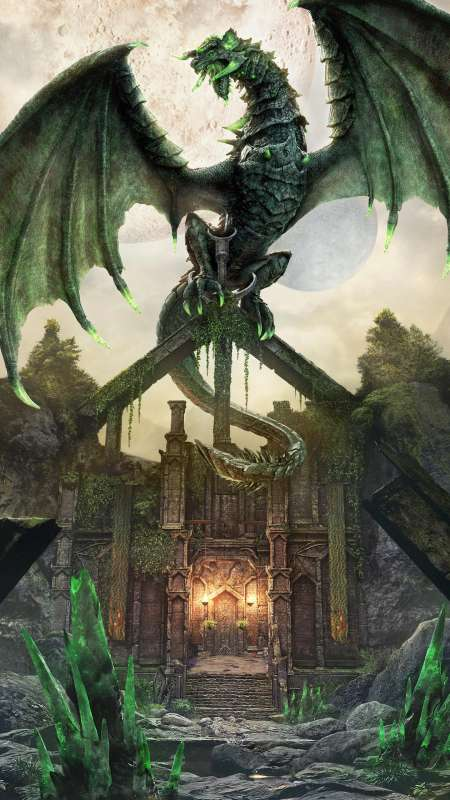 The Elder Scrolls Online: Dragonhold Mobile Vertical wallpaper or background