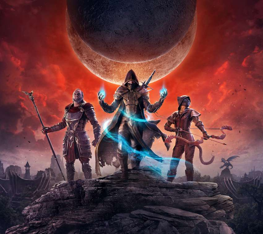 The Elder Scrolls Online: Elsweyr Mobile Horizontal wallpaper or background