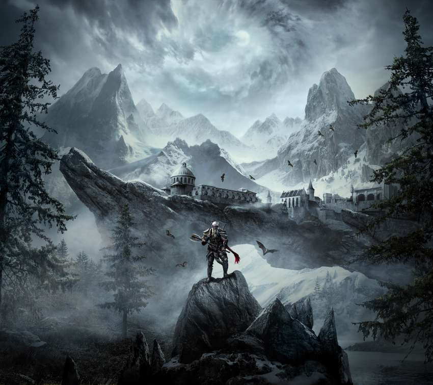 The Elder Scrolls Online: Greymoor Mobile Horizontal wallpaper or background