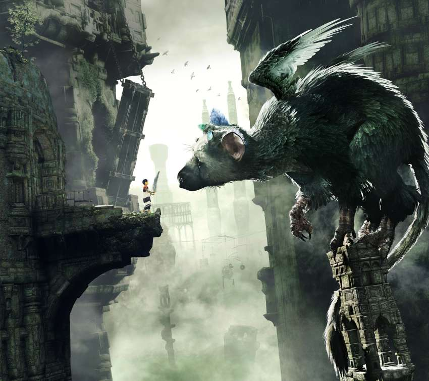 The Last Guardian Mobile Horizontal wallpaper or background
