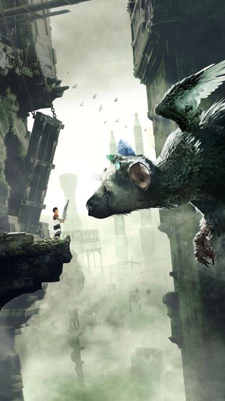 The Last Guardian Mobile Vertical wallpaper or background