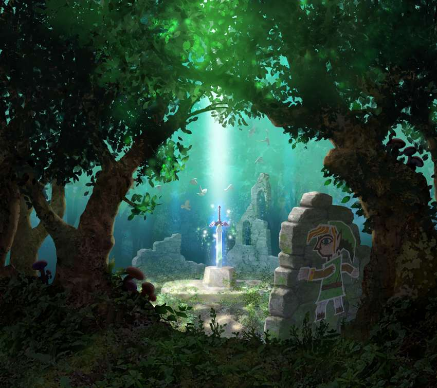 The Legend of Zelda: A Link Between Worlds Mobile Horizontal wallpaper or background