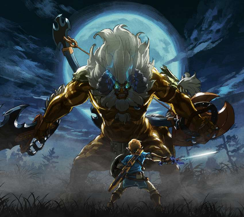 The Legend of Zelda: Breath of the Wild - The Master Trials Mobile Horizontal wallpaper or background