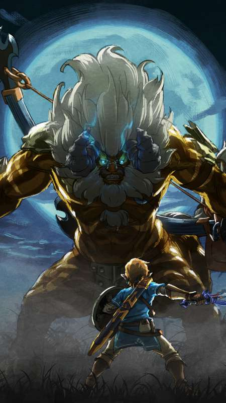 The Legend of Zelda: Breath of the Wild - The Master Trials Mobile Vertical wallpaper or background