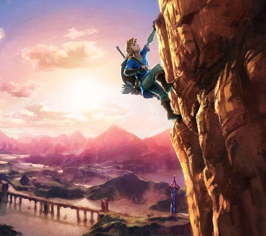 The Legend of Zelda: Breath of the Wild Mobile Horizontal wallpaper or background