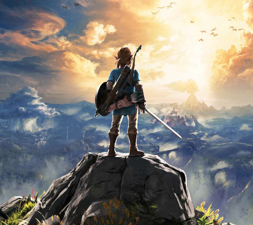 The Legend Of Zelda Breath Of The Wild Wallpapers Or Desktop