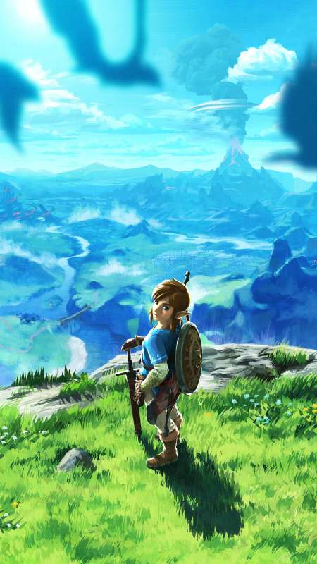 The Legend of Zelda: Breath of the Wild Mobile Vertical wallpaper or background