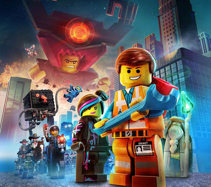 lego movie city background - photo #16