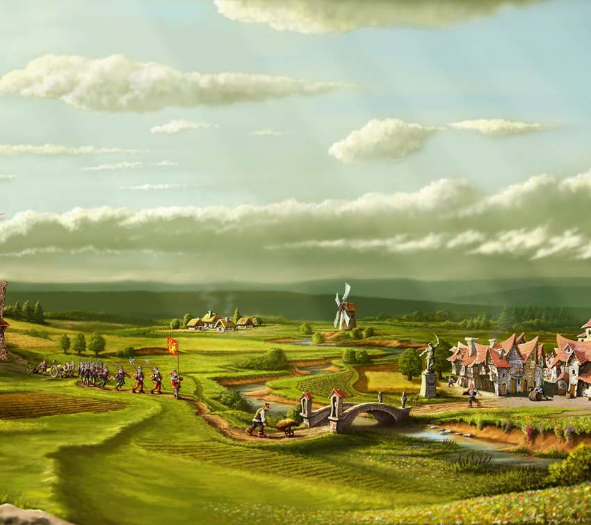 The Settlers Online wallpaper or background