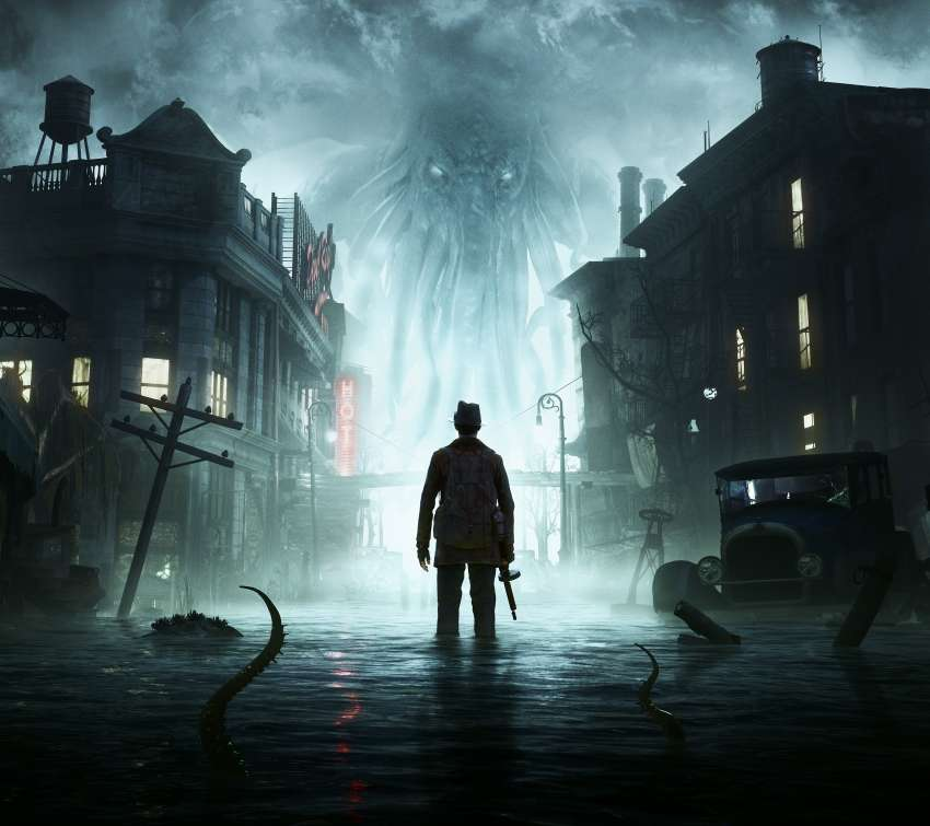 The Sinking City Mobile Horizontal wallpaper or background