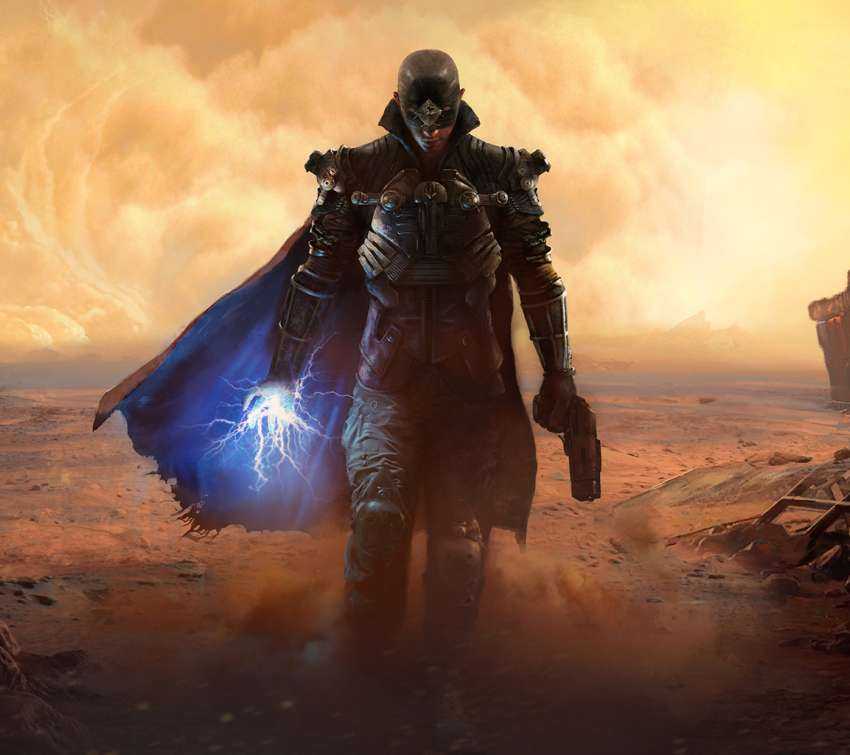 The Technomancer Mobile Horizontal wallpaper or background