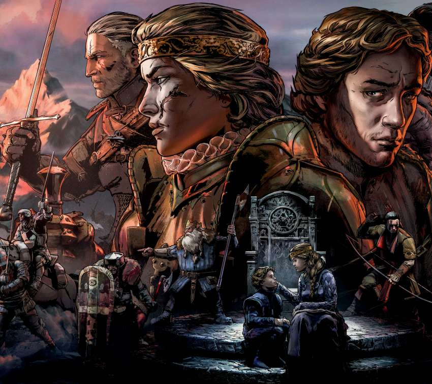 Thronebreaker: The Witcher Tales Mobile Horizontal wallpaper or background