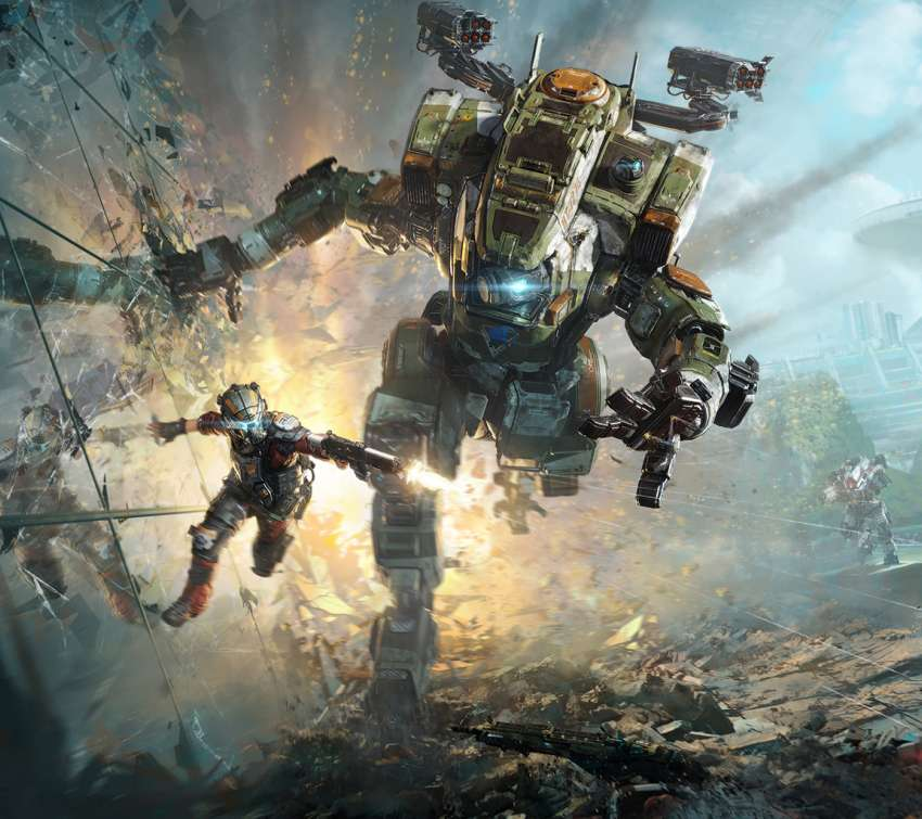 Titanfall 2 Mobile Horizontal wallpaper or background
