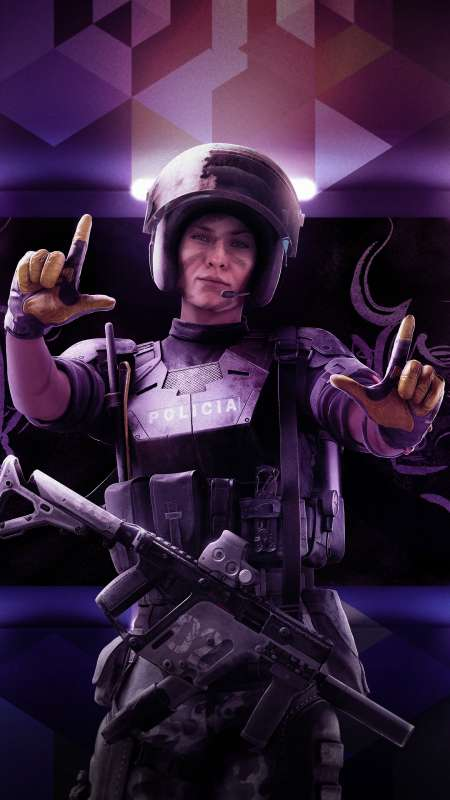 Tom Clancy's Rainbow Six: Siege - Operation Velvet Shell Mobile Vertical wallpaper or background