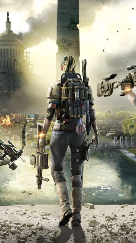 Tom Clancy's The Division 2 Mobile Vertical wallpaper or background