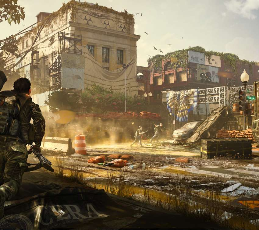 Tom Clancy's The Division 2 Mobile Horizontal wallpaper or background