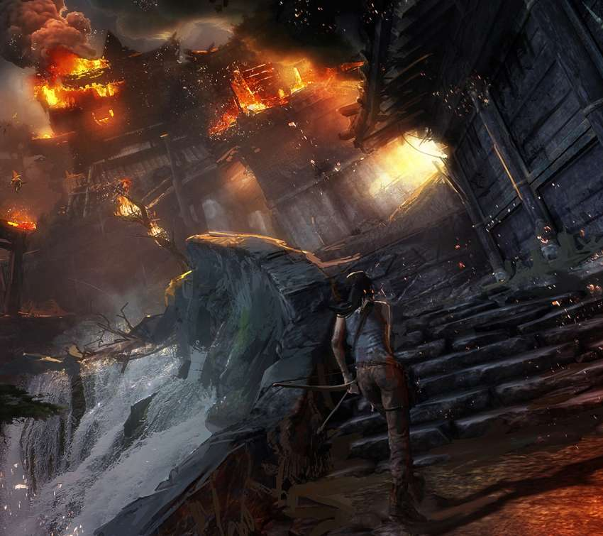 Tomb Rider Wallpaper: Cyberbabe Game Wallpapers