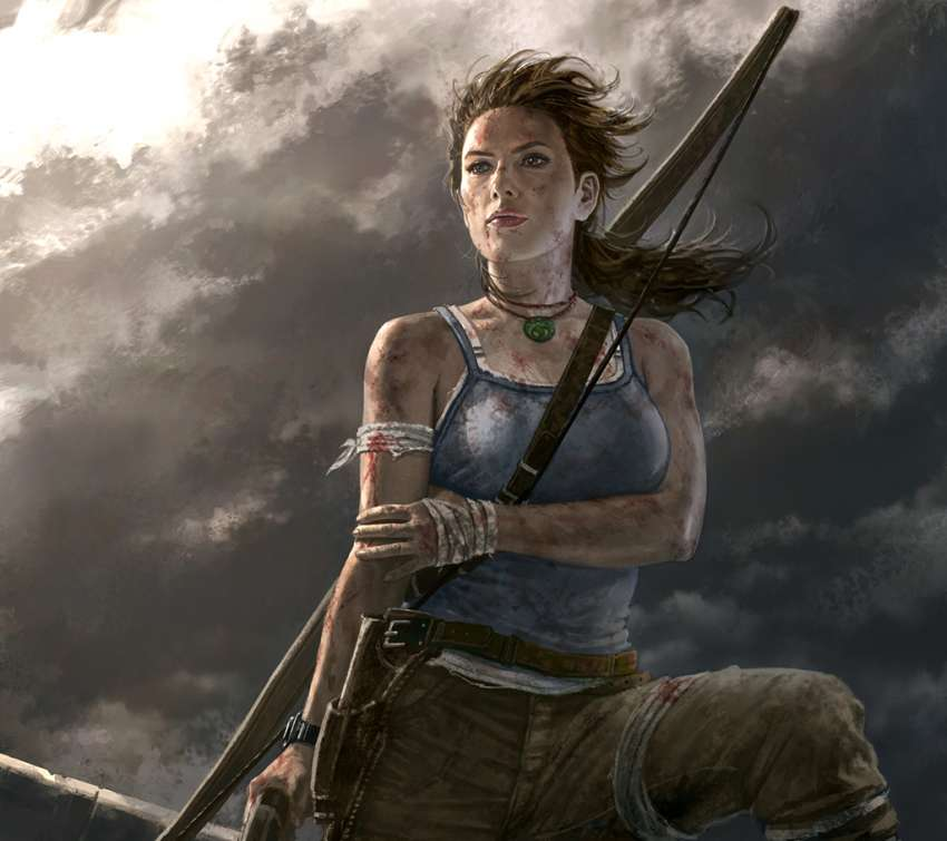Tomb Rider Wallpaper: Year Celebration Wallpapers Or Desktop